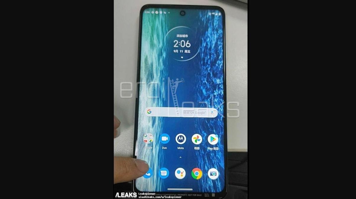 Noul Motorola Moto G 5G in lucru