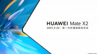 Telefonul pliabil Huawei Mate X2 va fi lansat pe 22 februarie