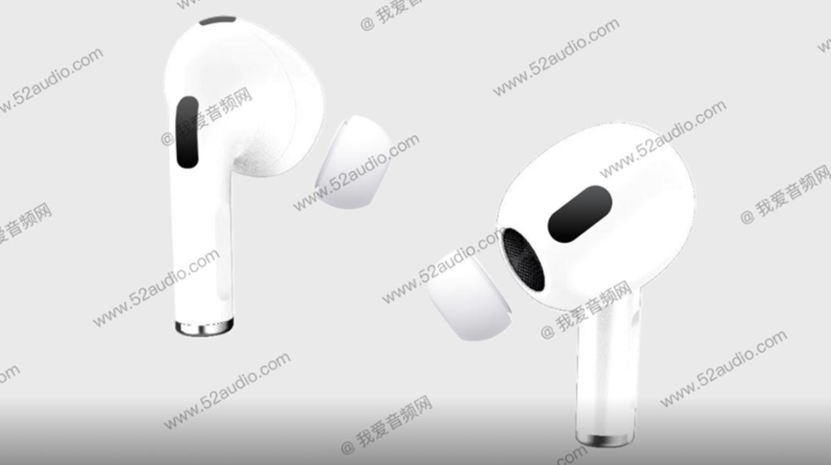 Apple AirPods de generația a treia va avea un nou design și suport ANC