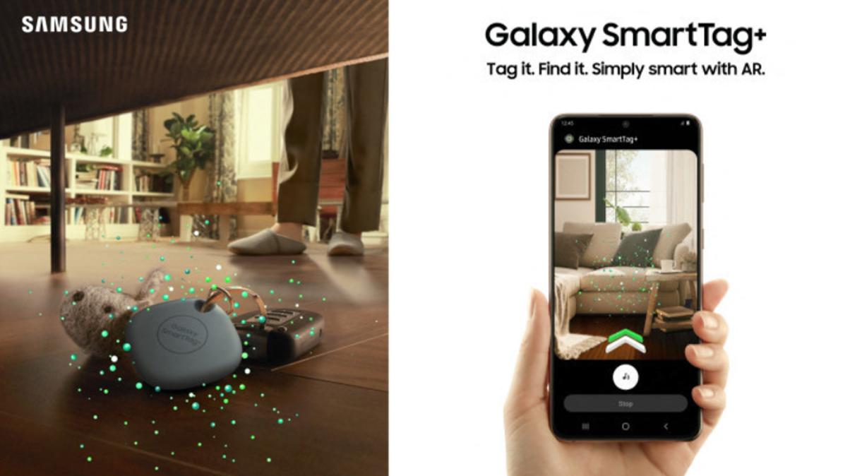 Samsung a lansat Galaxy SmartTag+ cu tehnologie Ultra WideBand