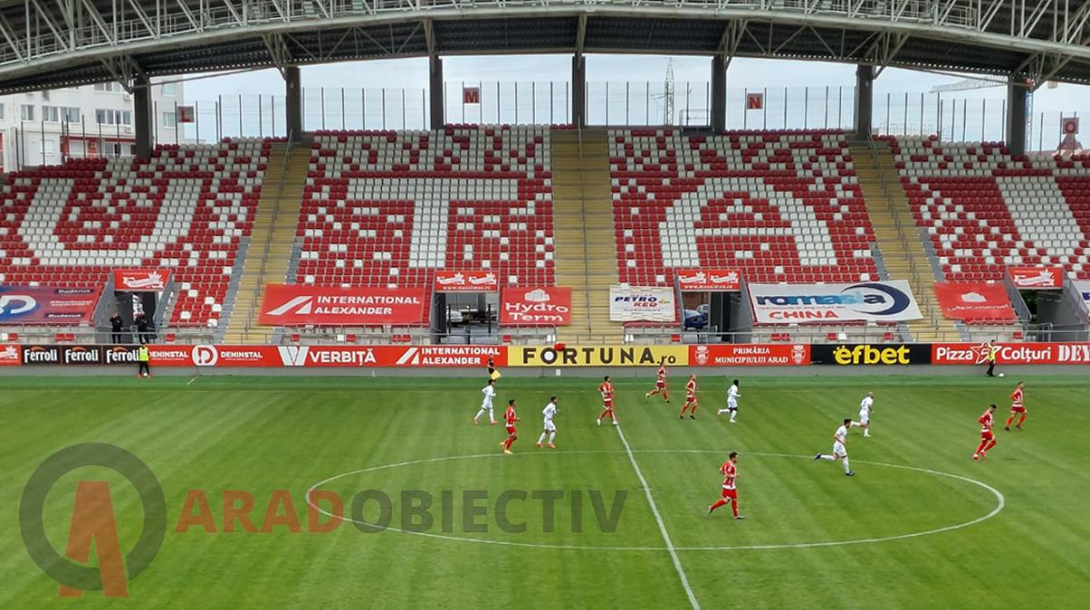 UTA ramane in Liga I UTA Arad – Gaz Metan Medias 1-0