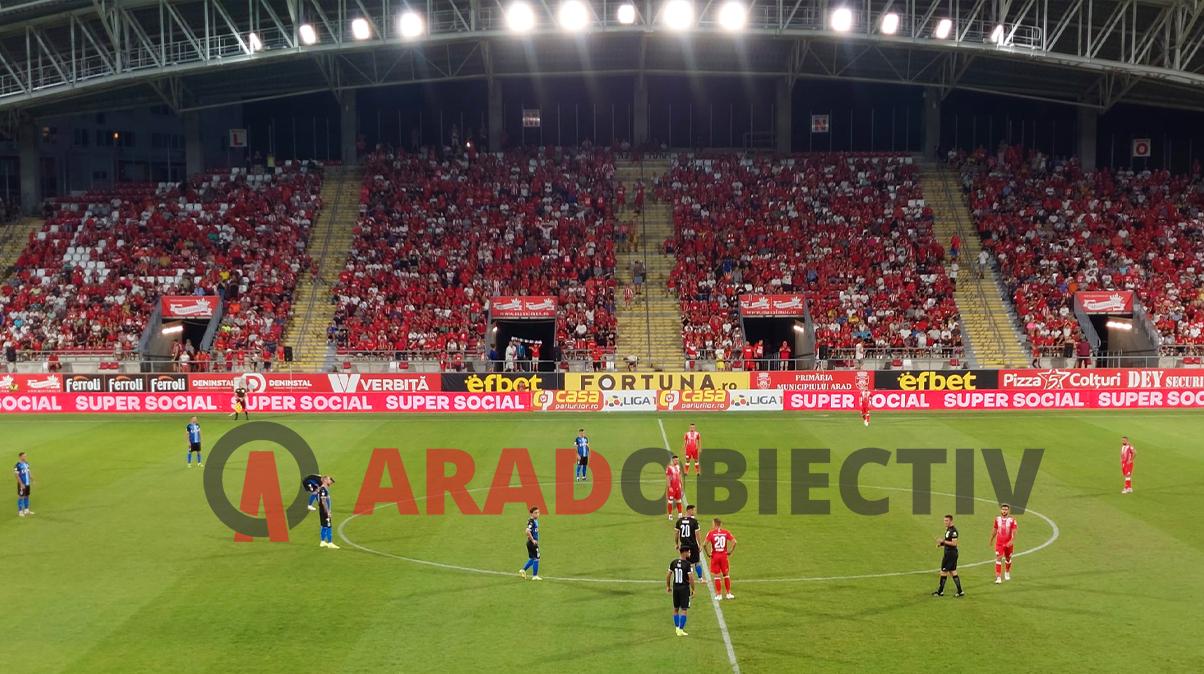 Într-o atmosferă fantastică UTA Arad – Universitatea Craiova 1 - 0