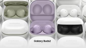 Samsung a lansat căștile wireless Galaxy Buds 2 cu anularea activă a zgomotului